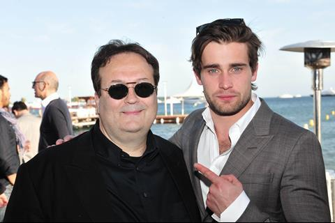 Carlo Carlei and Christian Cooke at Swarovski's reception for Romeo & Juliet
